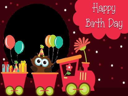 Birthday Wishes App - náhled