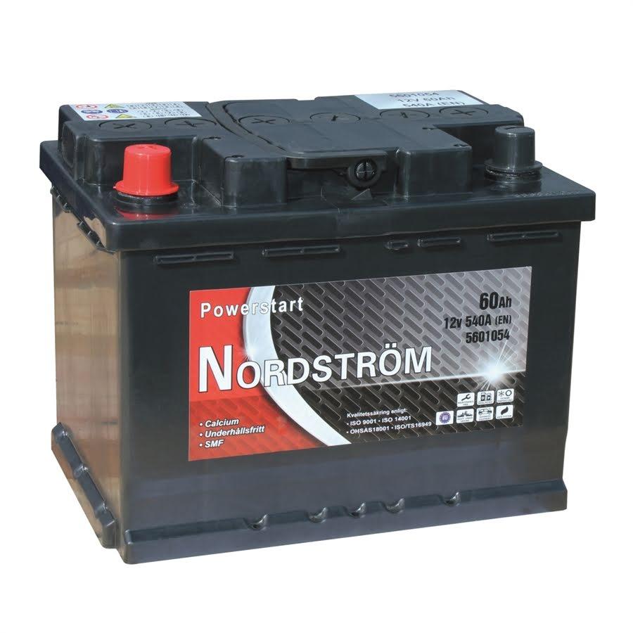 62 Ah Startbatteri Nordström
