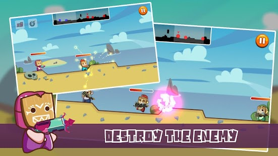 Baby Wars - Baby Turn Base Shooter - náhled