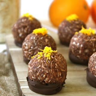 Chocolate Orange Macaroons.