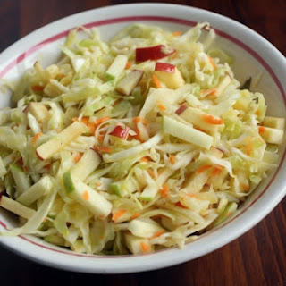 CABBAGE & APPLE SLAW
