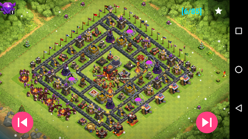 Maps of Clash Of Clans for PC