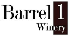 Logo for Barrel 1 Winery