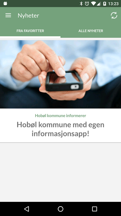 Hobøl kommune- screenshot