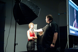 Photo: Frank gave a great demo on using a light meter
