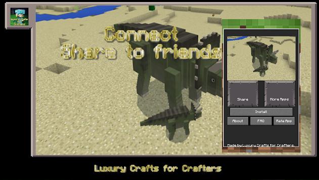 Craft Launcher - Mod Jurassic Era for MCPE APK Latest