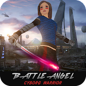 Battle Angel Cyborg Warrior Girl icon
