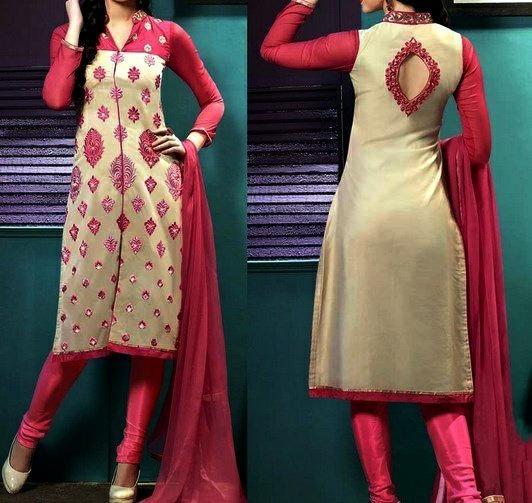 churidar neck designs photo gallery