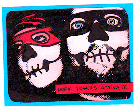 Photo: Dork Powers Activate! Wenchkin's Mail Art 366 - Day 237 - Card 137a