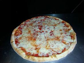 Photo: extra cheesy pizza