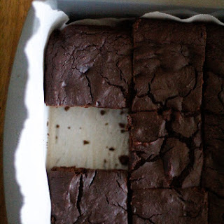 Dark Chocolate Chickpea Brownies