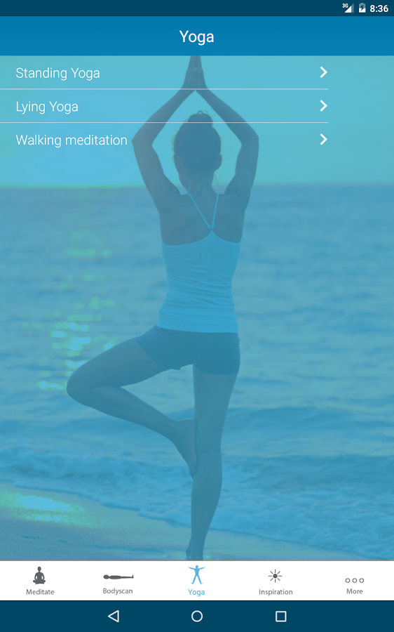 MindfulnessApp- screenshot