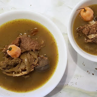 Goat Meat Pepper Soup.