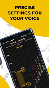 Singing app Vocaberry Mod Apk Vocal training. Karaoke (Unlocked) 7