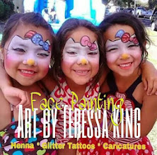 Photo: Adorable Hello Kitty face Painting masks by Teressa in Lakewood, ca.Call to booked Teressa for your next event: 888-750-7024