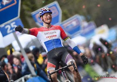 Wereldkampioen Wout Van Aert ziet sterke Mathieu van der Poel zegevieren in Middelkerke