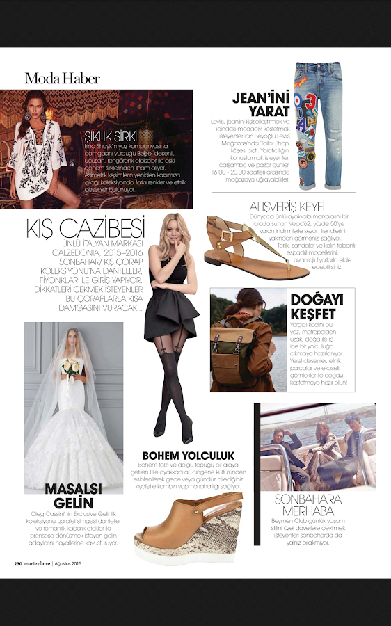 Marie Claire Türkiye- screenshot