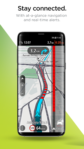 TomTom Navigation 1.1.4 gameplay | AndroidFC 2
