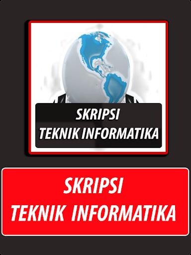 Skripsi Teknik Informatika