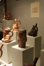 Photo: I was so excited to see the Moche Warriors at the amazing archeology museum in Lima.