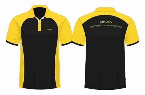 mẫu thiết kế đồng phục công ty Limosa