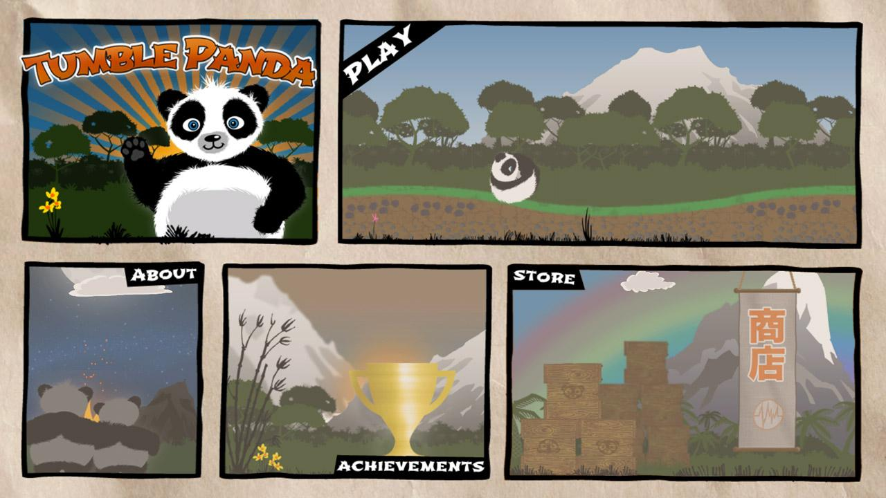 Tumble Panda - Adventure Game- screenshot