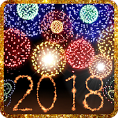 New Year 2018 fireworks