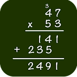 Math: Multiplication Icon