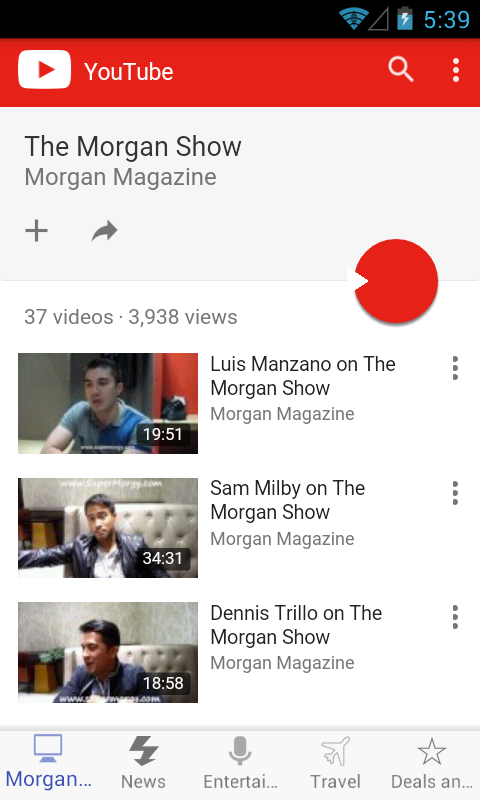 Morgan Magazine- screenshot