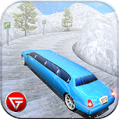 Uphill Limo Driving Hill Climb:Mountain Roads