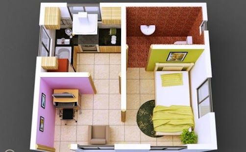 3d Small House Design Screenshot Thumbnail