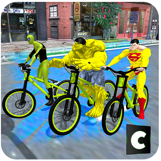 Superheroes Bicycle Stunts file APK for Gaming PC/PS3/PS4 Smart TV