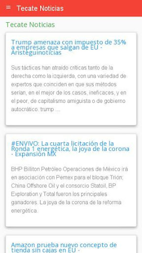 Noticias Tecate  screenshots 1