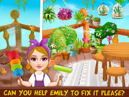Messy House Cleanup Girls Home Cleaning Activities android2mod screenshots 8