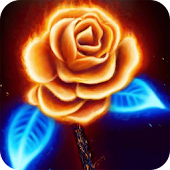 Neon rose Live Wallpaper
