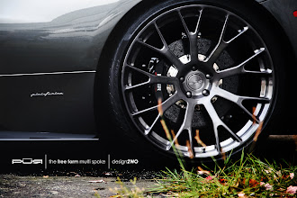 Photo: PUR WHEELS DESIGN 2WO THE FREE FORM MULTI SPOKE http://www.ac.auone-net.jp/~ever_g/tire/index.html