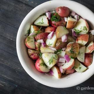 Summery Lemon & Dill Red Potato Salad Recipe