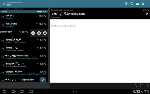 MailDroid screenshot 12