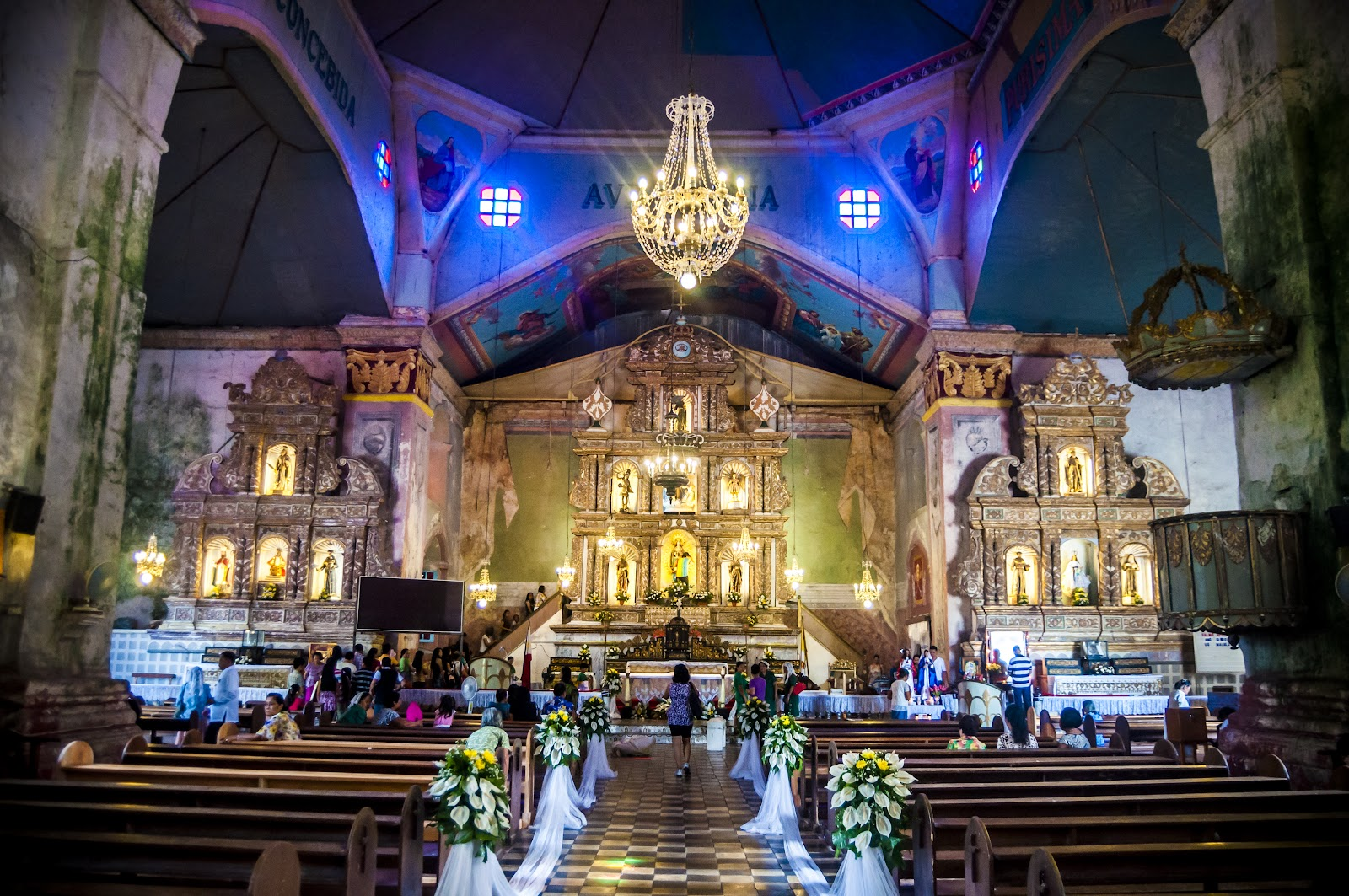Baclayon Church - Wikipedia