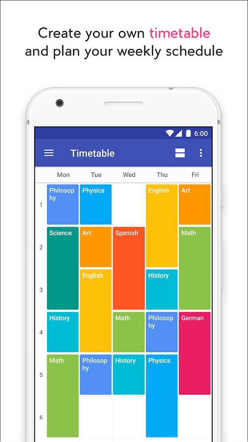School Agenda Android Apps on Google Play – School Agenda