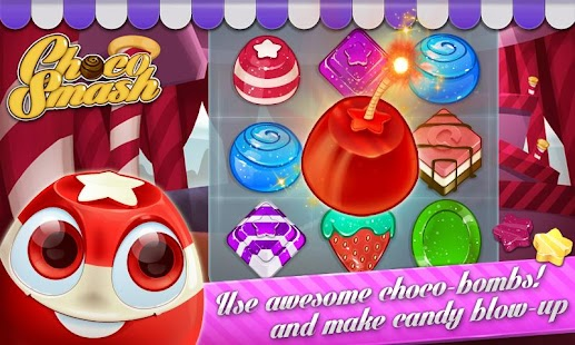 Choco Smash (Unlimited Lives)- screenshot thumbnail