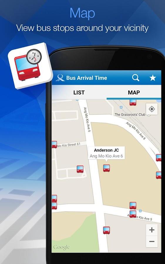 MyTransport Singapore - screenshot