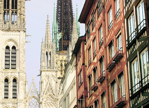 Rouen Cathedral has been in the heart of Rouen since it was one of the most prosperous cities of medieval Europe.