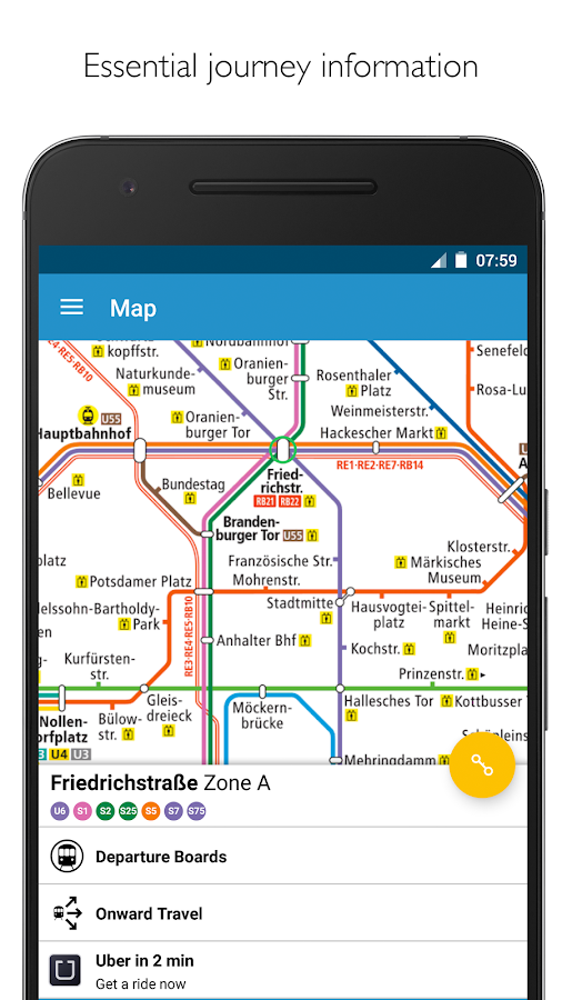 berlin subway bvg map route android apps on google play. Black Bedroom Furniture Sets. Home Design Ideas