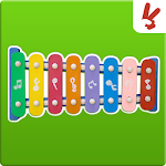 Music game for kids: Xylophone Icon