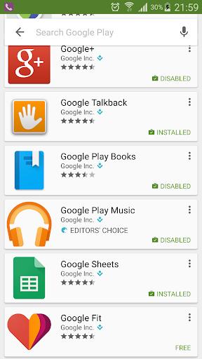 Package Disabler [Samsung]  screenshots 7