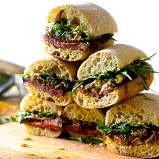 Steak Sandwich On Ciabatta Bread Recipes.