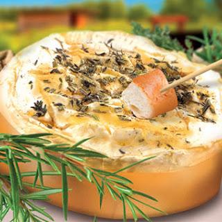 Grilled Graindorge Camembert Fondue.