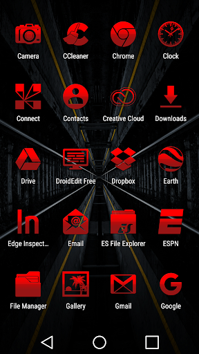Tap Red - Icon Pack hack tool