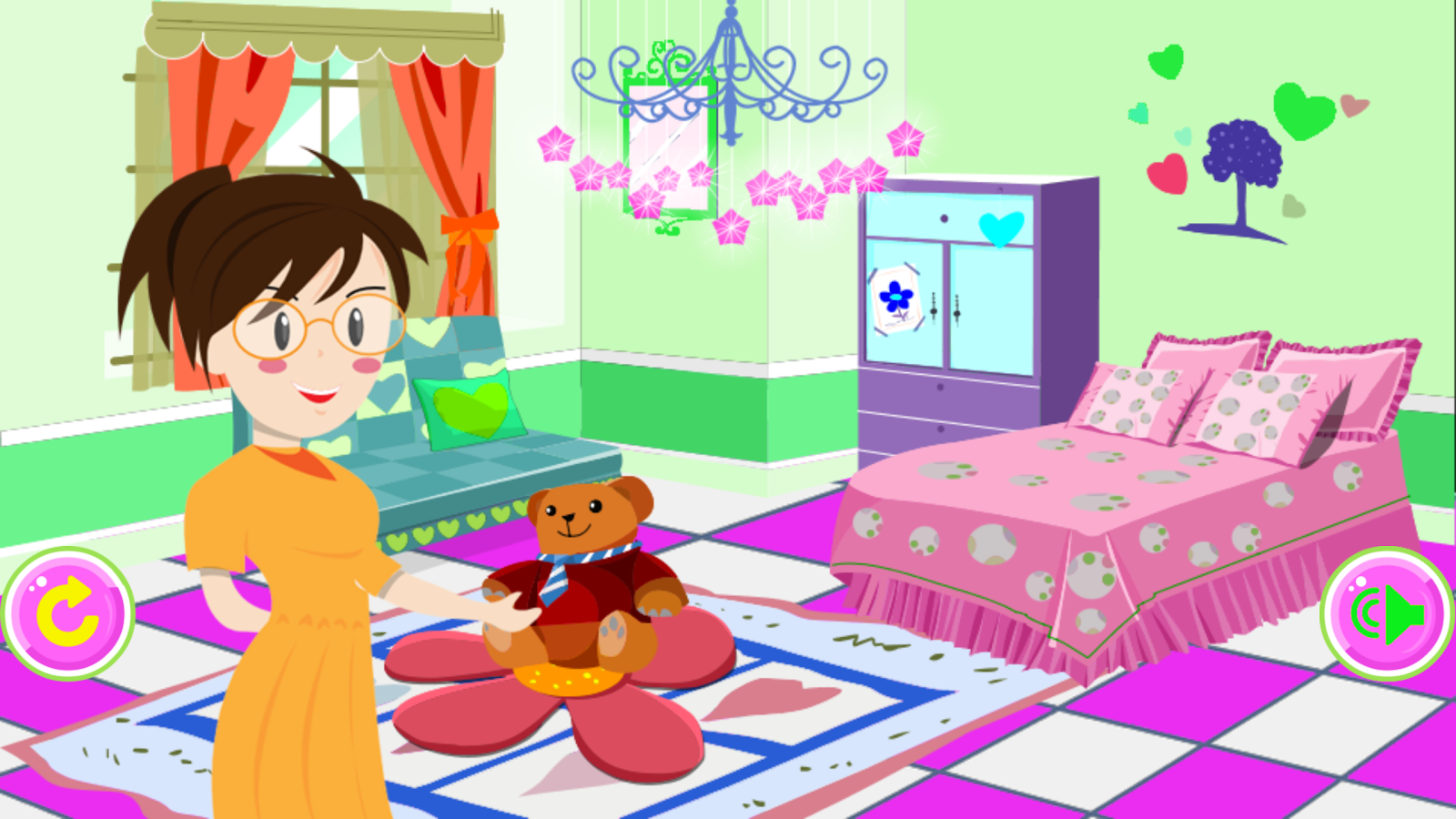 Girly Room Decoration Game Apk  girly games for girls girl